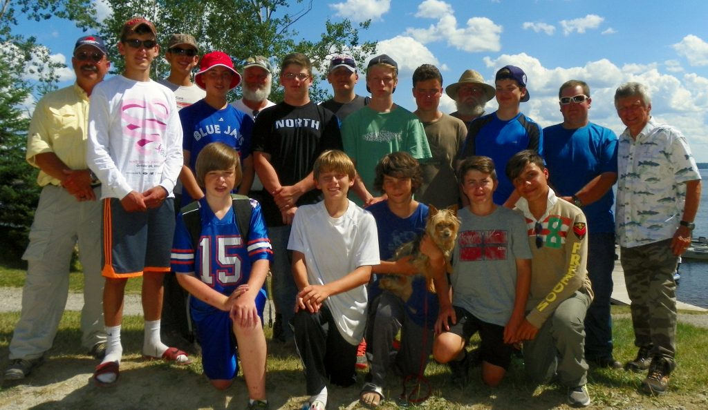 Tasc canadian wilderness fishing camps for boys 10 17 for Fishing summer camp
