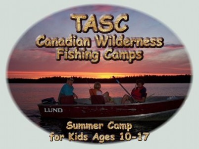 Tasc for teens summer fishing camp for kids teens for Fishing summer camp